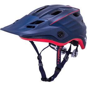 Kali Maya 2.0 Casque, matte navy/red